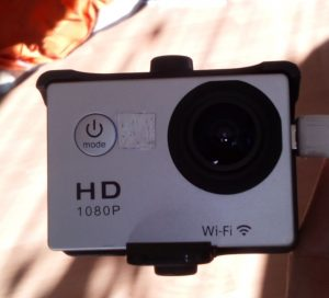 Action Cam mit WiFi
